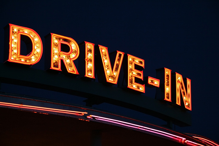 Drive-In Movie - News of the World