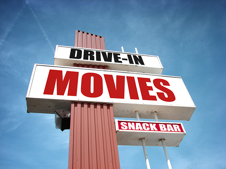 Drive-In Movie Theater: Top Gun