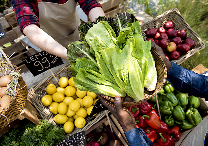 Morningside Park's Down to Earth Farmers Market