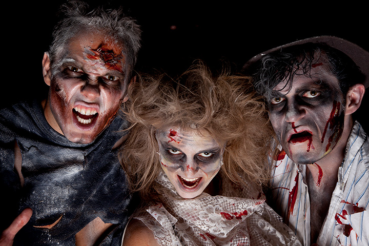 Land of Illusion Haunted Scream Park Attraction