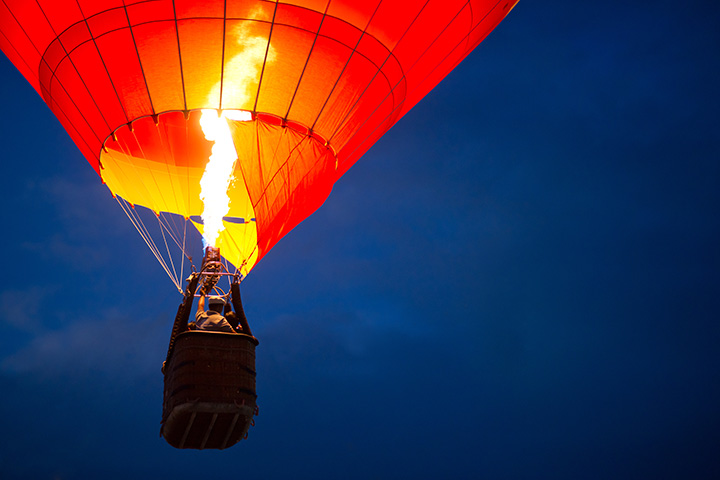 The FireLake Fireflight Balloon Festival