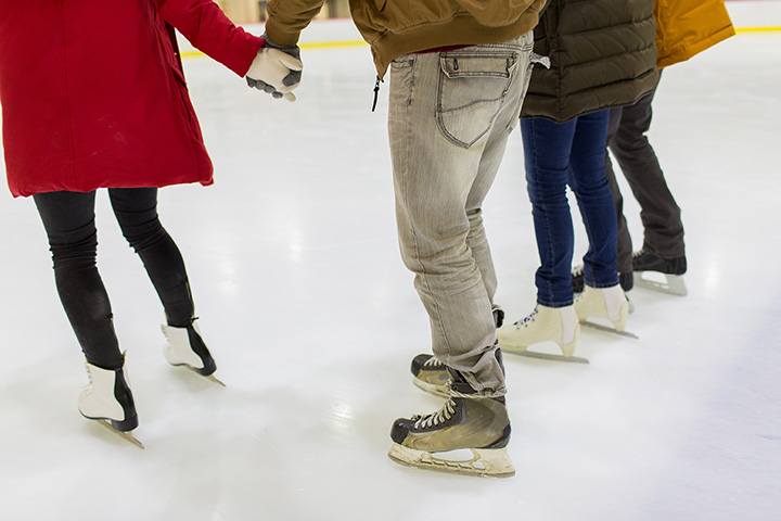 Allied Veterans Ice Skating Rink