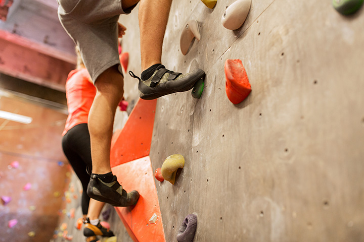West Valley City Fitness Center Rock Climbing Wall