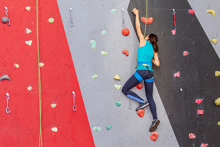 Iowa State University Recreation Services - Climbing Wall